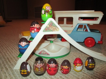 My Weebles collection. Don't judge. WEEBLES is a registered trademark of Hasbro, Inc.